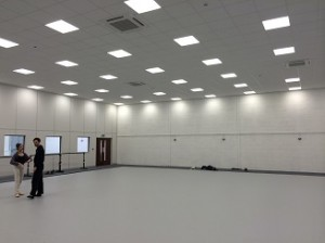 ballet hall after